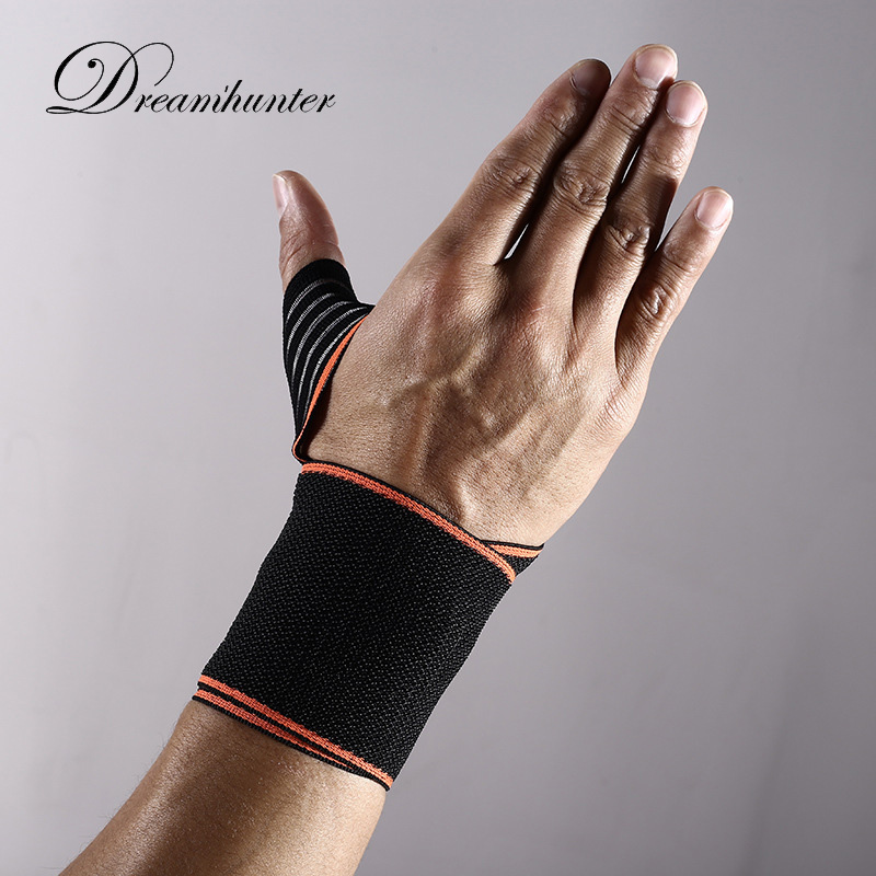 1 pcs Adjustable strap wrist support Wound pressure Wrist Brace Fitness bandage gym gloves sweatband wrist munhequeira protector
