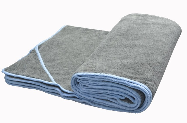 "Sunland Yoga Towel 24""x72"" Microfiber Hot Yoga Towel- Perfect for Bikram Ashtanga"