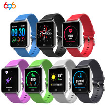 696 M21 smart watch fitness bracelet heart rate monitor blood pressure oxygen bracelet smart best gift for wife and children(China)