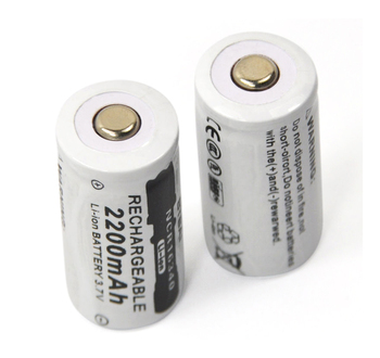 3.7V 2200mAh Lithium Li-ion 16340 Battery CR123A Rechargeable Batteries 3.7V CR123 for Laser Pen LED Flashlight Cell 12pcs pkcell lithium battery cr123a cr 123a cr17345 16340 cr123a 3v non rechargeable batteries for camera gas meter primary dry