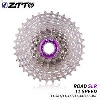 ZTTO 超軽量道路 11 S 11-28T SLR2 カセット自転車 11 速度 11-32 T/34 t/36 T フリーホイール 11V K7 サイクリング CNC 砂利バイク HG システム
