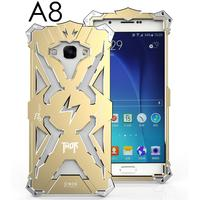 Luxury For Samsung Galaxy A8 Cover Simon Back THOR IRONMAN Shockproof Metal Aluminium Frame Anti Knock