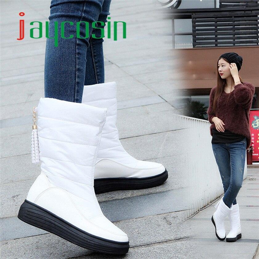 High quality  Winter Warm Snow Boots Cotton Shoes Flat Heels Knee High Boots Women Boots winter warm snow boots cotton shoes flat heels knee high boots women boots wholesale high quality