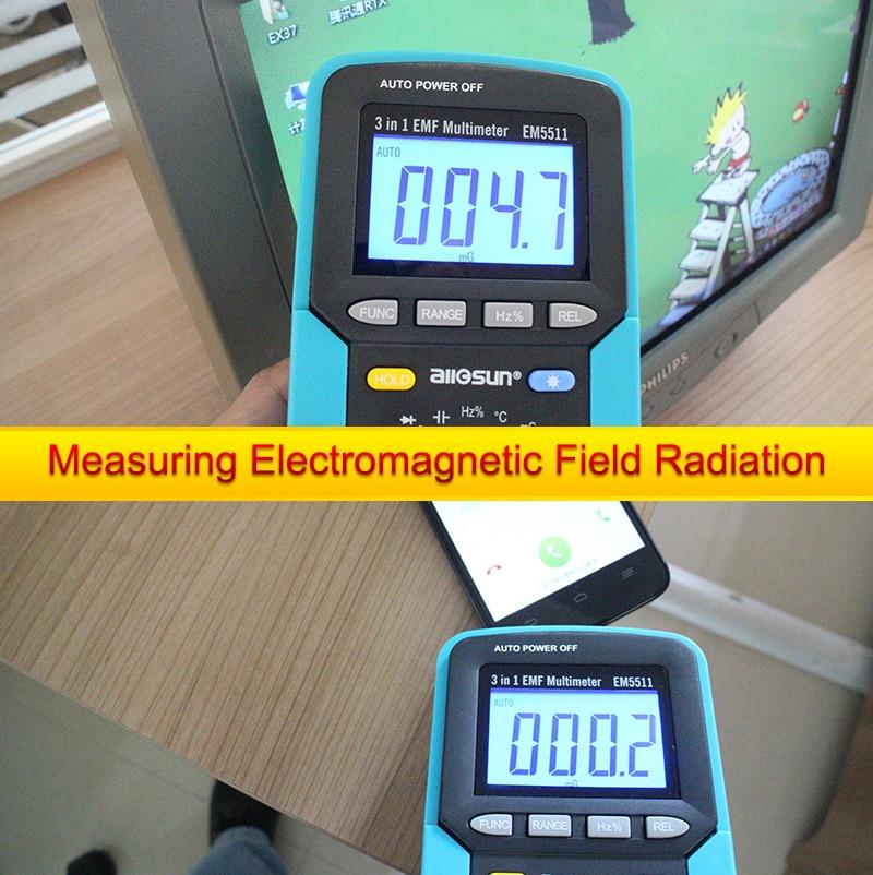 ALL SUN EM5511 3in1 Auto Range Digital Multimeter Voltmeter Ammeter - Mõõtevahendid - Foto 6