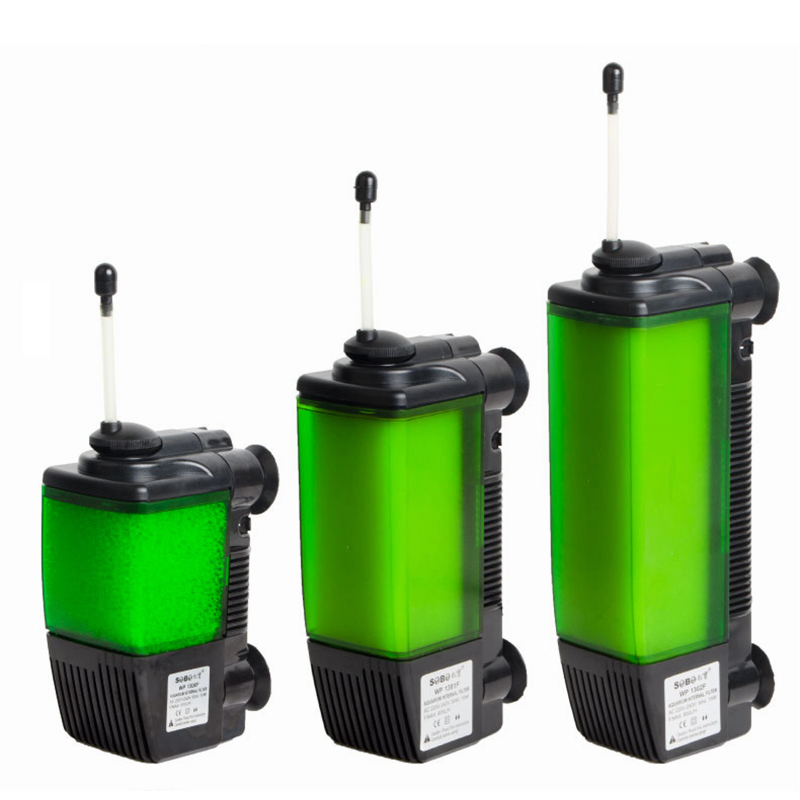 New design aquarium 3 in 1 oxygen filter pump fish tank for Quiet fish tank filter