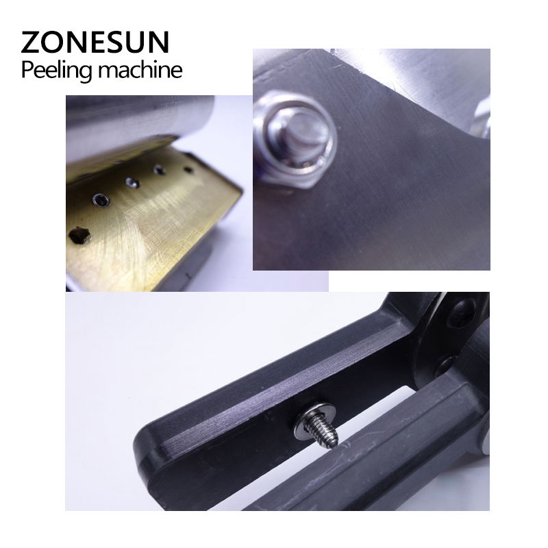 Image 5 - ZONEUN Leather Splitter Skiving Machine Peeling Machine Paring 