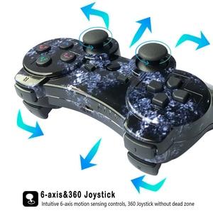 Image 5 - K ISHAKO Für SONY PS3 Bluetooth Controller Gamepad Manette Für Sony Play Station 3 Joystick Wireless Gamepad SIXAXIS Dual Vibrat