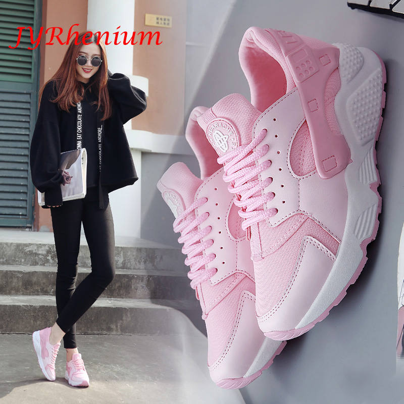 JYRhenium new 2018 Sport Shoes Woman Air Cushion Running Shoes for Women Outdoor Summer Sneakers Women Walking Jogging Shoes