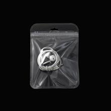 12.5*17cm(4.92x6.7) Clear Plastic Package Pouches Recloable Grip Seal Transparent Zip Lock Packaging Bag 100Pcs/lot