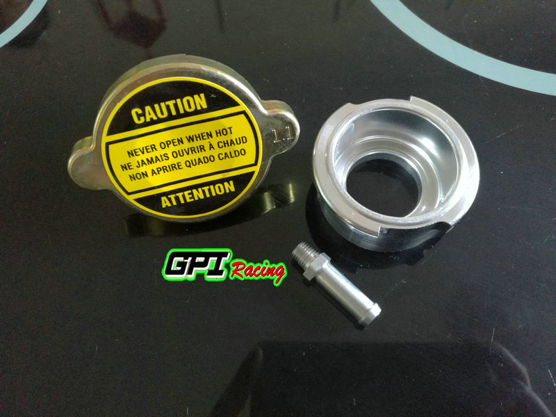 1.1 BAR Radiator Cap Fits Standard /& Aftermarket Radiator w// Filler Neck 22mm