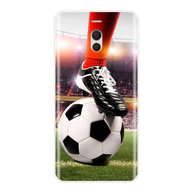 עבור Meizu M3 M3NOTE MX4 M6S M6Note Pro6Plus U10 U20 כדורגל כדורגל כדור על מים שריפת אש ספורט רך סיליקון טלפון מקרה