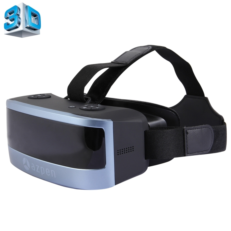WIFI Bluetooh 3D VR Glass Virtual Reality Box Android 4.4 Allwinner Quad Core 2GB+16GB 3D Glasses Headset 5.5'' 1920*1080 Screen caraok v12 android 4 4 all in one 3d vr virtual reality glasses allwinner h8 quad core 2g 16g support wifi bluetooth otg f19631