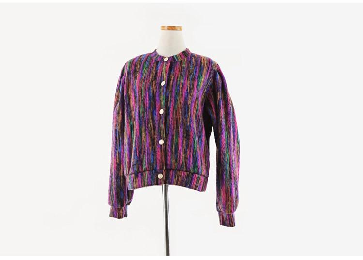 HTB1XjH6LjDpK1RjSZFrq6y78VXaY Runway Designer Chromatic Cashmere Women Jacket Coat 2019 Spring Single Breasted Long Sleeve Casual Slim Outerwear