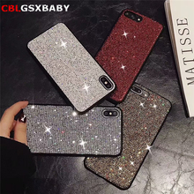 Fashion Glitter Cover For iPhone 11 Pro Max 8 Plus 7 Shining Bling Case For iPhone 6 6s Plus 7 8 XS Max XR X Shell Phone Case new iphone case for iphone 11 for iphone11 pro max 5 8 inches 6 1 inches 6 8 inches 6 6s 7 8 plus ix xr max x fashion back cover