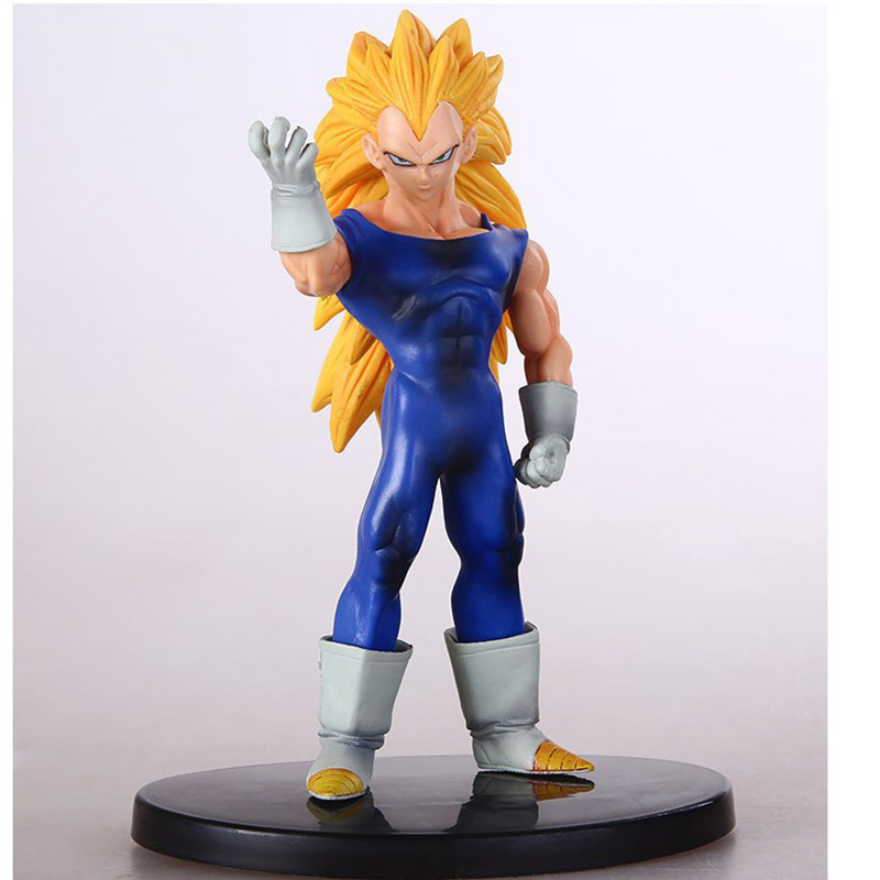 2017 Hot Dragon Ball Z Vegeta Figure KAI Vegeta 17CM Collectible Toy Figures Collection Model Animation Toy Anime Cartoon RT078