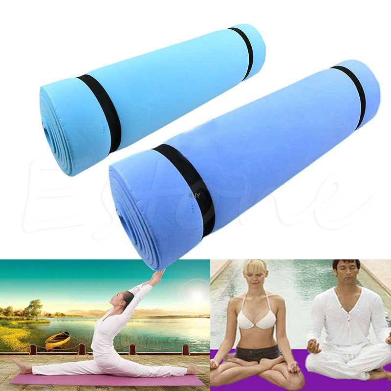 Pretty Dampproof Eco-friendly Sleeping Mattress Mat Exercise EVA Foam Yoga Pad INY