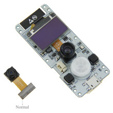 Bluetooth 4.2 Dual-core Wireless Electronic Camera Module Mini DIY Board Photograph ESP32-WROVER PSRAM 0.96 OLED OV2640(China)