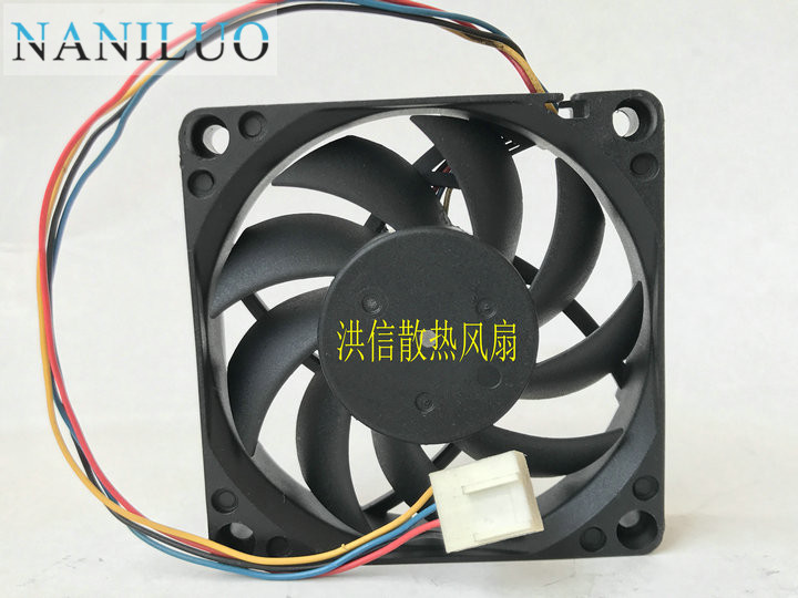 NANILUO PVA070E12L, -P02-AE DC <font><b>12V</b></font> 0.2A <font><b>140mm</b></font> 70x70x15mm Server Square <font><b>fan</b></font> image