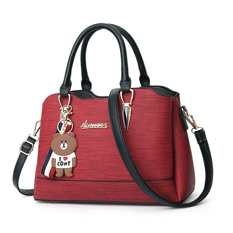 все цены на New Handbag Women Shoulder Bag Women's Tote High Quality Female Messenger Bag Designer Brand Large Capacity Casual Messenger Bag онлайн
