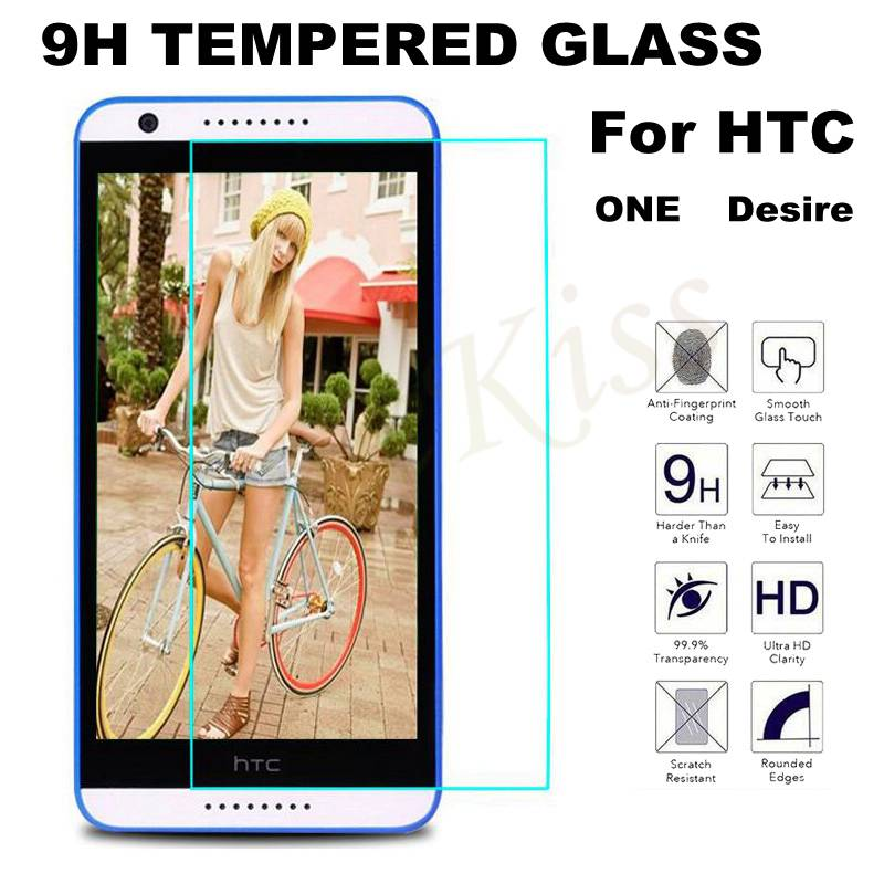 9H Premium Tempered Glass For HTC Desire 830 825 530 610 526 616 816 626 For HTC One M4 M7 M8 One Mini 2 Screen Protector Film