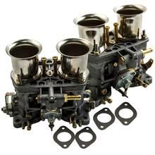 2Pc Carburateur Carburateur Voor Bug Volkswagen Beetle Vw Fiat Porsche Met Air Hoorn 44 Idf Voor Bug/Beetle/Vw/Fiat/Porsche Jet