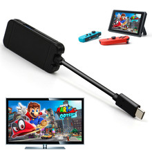 Sanchow Type C Adapter For nintend Switch Replacement Dock TV HDMI Converter Cable USB 3.0 Port For Accessories цена и фото