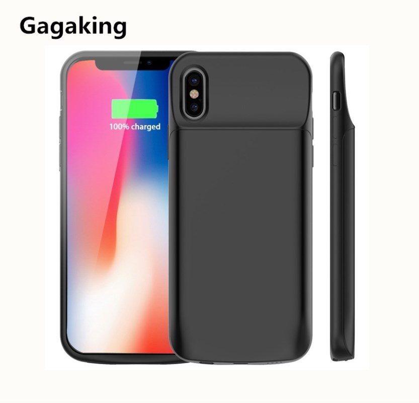 Gagaking Newest External Battery Case For Iphone X XS XSmax XR Portable Charger Case For Apple X 6000mAh Ultra Slim Power Bank