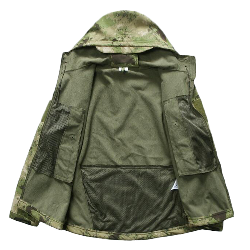 HTB1XjJLjmtYBeNjSspkq6zU8VXaH TAD Gear Tactical Softshell Camouflage Jacket Set Men Army Windbreaker Waterproof HuntingClothes Set Military Jacket andPants