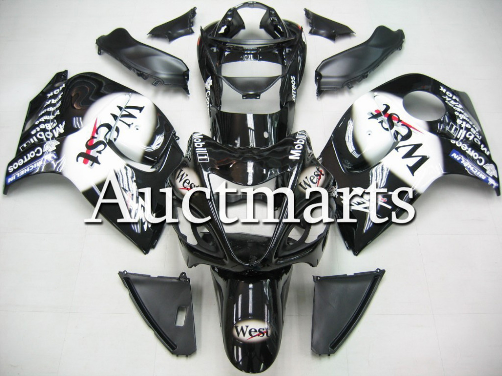 Fit for Suzuki Hayabusa GSX1300R 2008 2009 2010 2011 2012 2013 2014 ABS Plastic motorcycle Fairing Kit GSX1300R 08-14 CB01 кисти для макияжа kabuki brush 100% 27 pinceis maquiagem makeup brushes