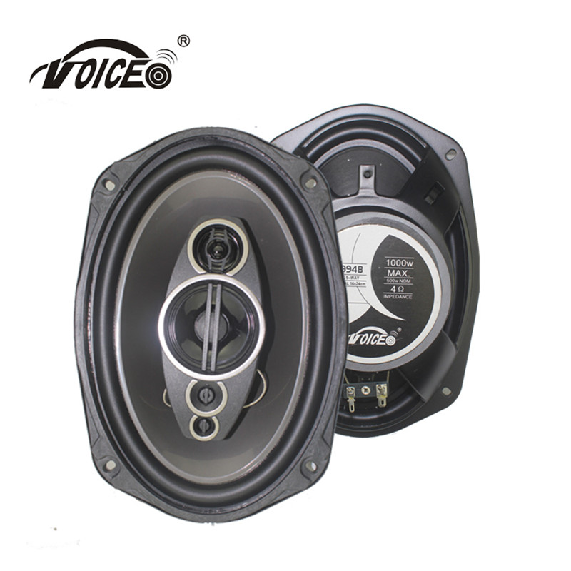 6*9  Auto Loudspeaker Paired Automobile Automotive Car HiFi Coaxial Speaker with Bass & Tweeter Audio Music Speakers for Car hertz ecx 165 5 car audio stereo 6 1 2 2 way energy coaxial speakers pair 6 5