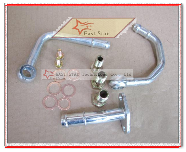 TD05 20G TD05-20G TD05-20G-8 Turbo Turbocharger For SUBARU Impreza WRX STI Turbine Engine EJ20 EJ25 MAX HP 450HP 5 bolts with gaskets pipe (6)