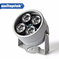 4 IR LED Infrared Illuminator Light IR Night Vision For CCTV Security Cameras Fill Lighting Metal
