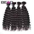 Beyo волос продукты бразильского виргинские дешевые бразильские волосы бразильский глубоко курчавый бразильский девственные волосы глубокая волна 4 шт./лот
