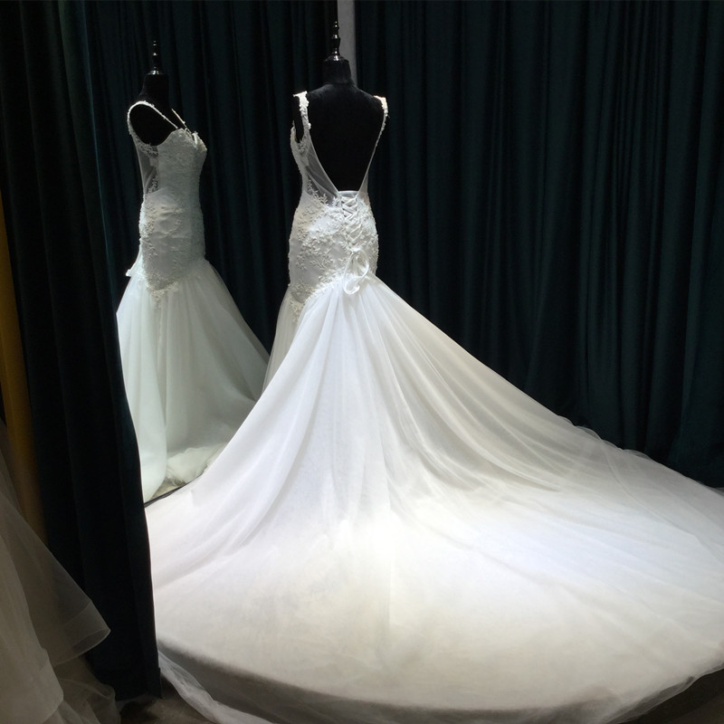 Vestido De Noiva Lace Mermaid Bröllopsklänningar 2017 Sweetheart - Bröllopsklänningar - Foto 4