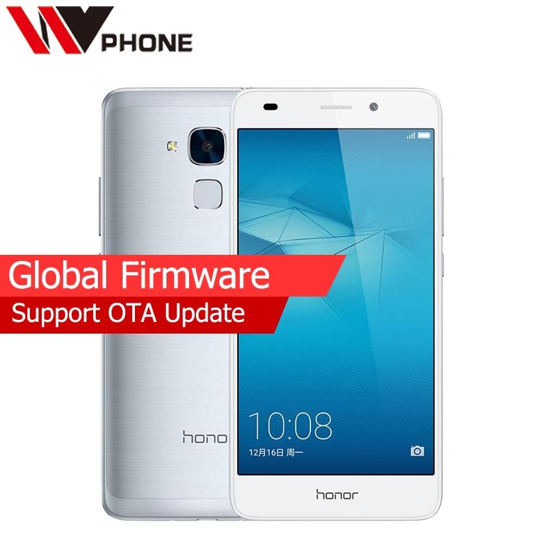"bilder für Globale Firmware Ursprünglicher Huawei Honor 5C Octa Core-Handy 5,2 ""1080 P 2G RAM 16G ROM 8.0MP 13.0MP 3000 mAh Fingerprint ID"