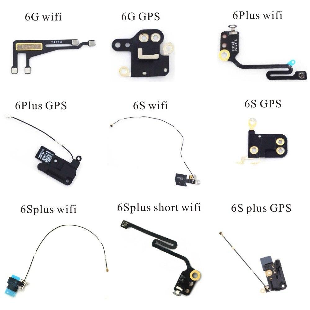 GPS Flex Cable For Iphone 6G 6plus 6s 6splus Wifi GPS Antenna Signal Flex Cable Replacement Repair Parts
