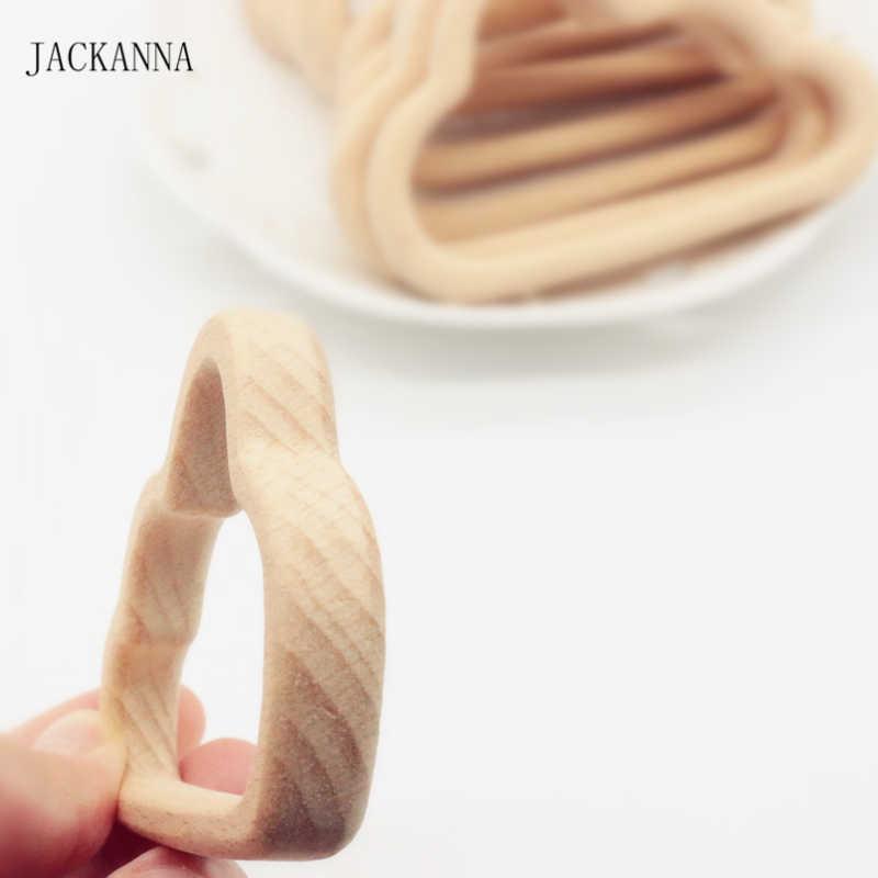 Детское дерево Прорезыватель в форме облака натуральный прорезыватель из буковой древесины детские игрушки-Жвачки, зубцы из древесины аксессуары, детские подарки для душа