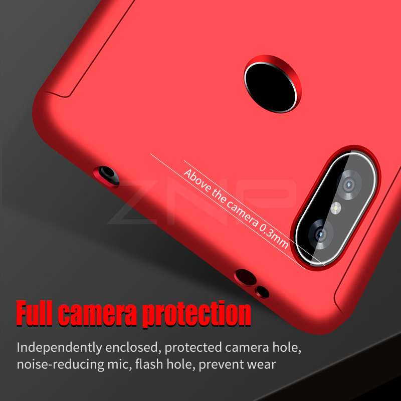 ZNP Full Cover Phone Case For Xiaomi Redmi S2 6A 6 Pro 5