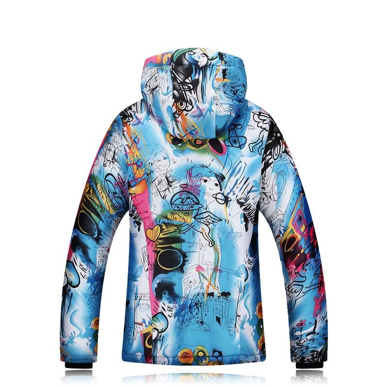 2018 Winter Ski Jackets Ladies Single Double Board Ski Clothing Windproof Waterproof Warm Thick Coat Ski Jacket Women (6)