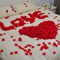 1000 pcs Pétalas de Rosa Favor Do Casamento Centerpieces Artificial Decoração Vaso De Flor Nupcial Shower Confetti Do Partido Noiva Flores 2016
