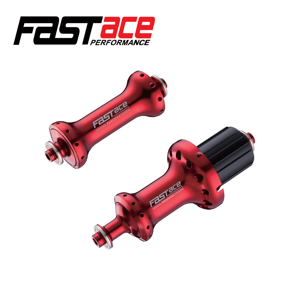 Fastace RH625 Road Bike Hub 24 Hole V Brake Aluminum 7075 Quick Release Bicycle Hub For SHIMANO Ultegra 6800 22 Speed Bike Parts shimano rm65 32 hole quick release bike hub aluminum alloy front and rear bicycle parts black bicycle disc brake bearing