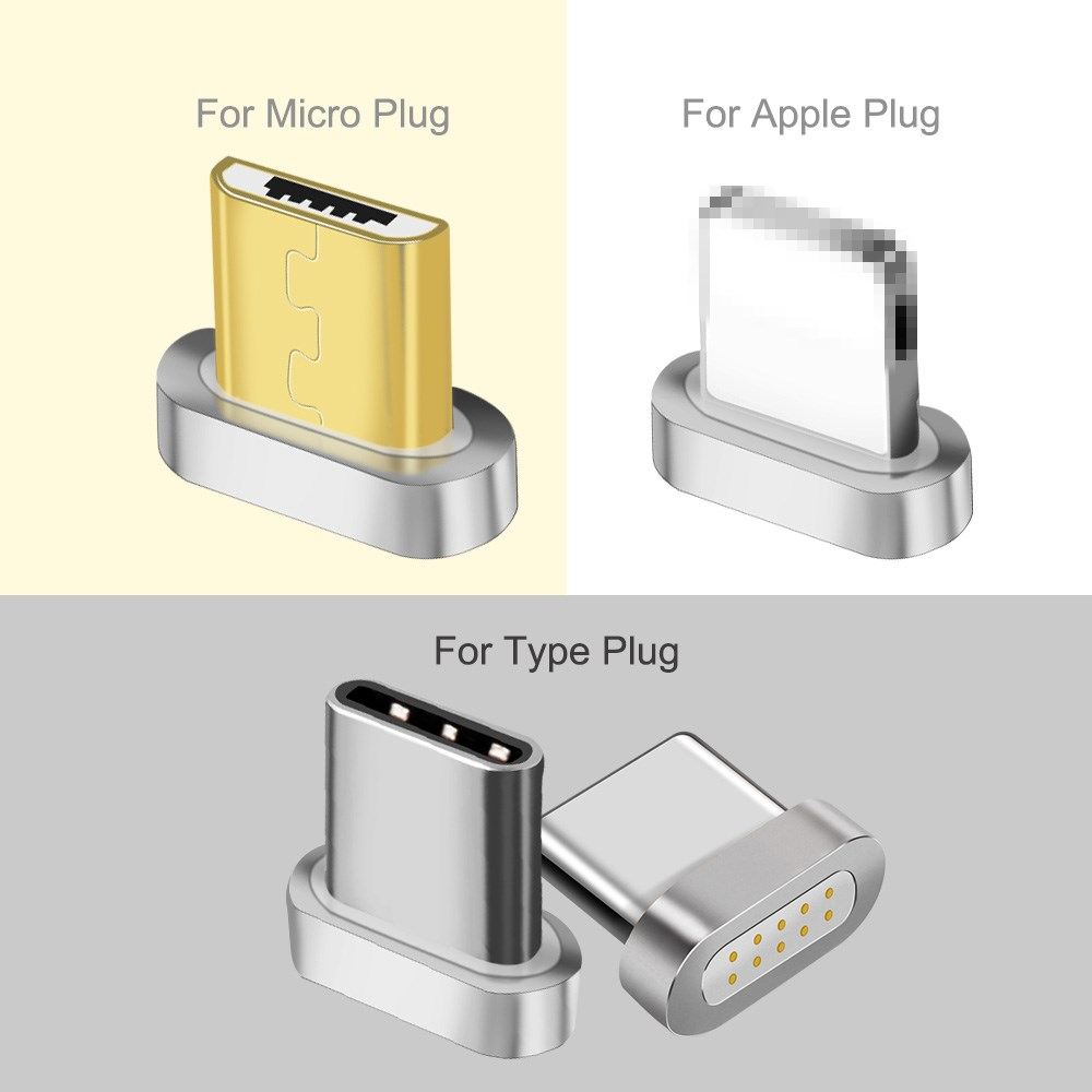 Magnetische Transfer Adapter Voor Micro Usb Type C Connector Magnetische Micro Usb Connector Adapter Ios Androidusb-c Magnetische Adapter