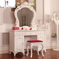 Large-sized apartment bedroom make up table solid wood high quality