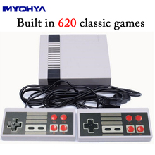 MYOHYA Mini Retro Classic Video Game Console Built-in 620 Games 8 Bit PAL&NTSC Family TV handheld game player Double Gamepads