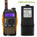 Baofeng GT-3 Mark II  3800mAh Battery VHF/UHF Dual Band FM Ham Two Way Radio Walkie Talkie Transceiver Scanner