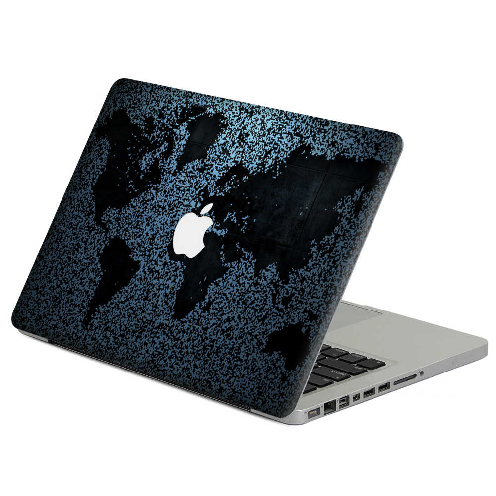 "Abstrak peta Laptop Decal Sticker Kulit Untuk MacBook Air Pro Retina 11 ""13"" 15 ""Vinyl Mac Kasus Notebook Penutup Tubuh Penuh Kulit"