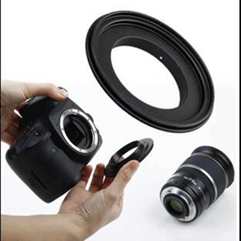 Foleto Macro Reverse lens Adapter Ring PK-49 <font><b>52</b></font> 55 58 62 <font><b>67</b></font> 72 77mm for pentax camera K/PK Mount K20D K100D K-7 5 30 r x image