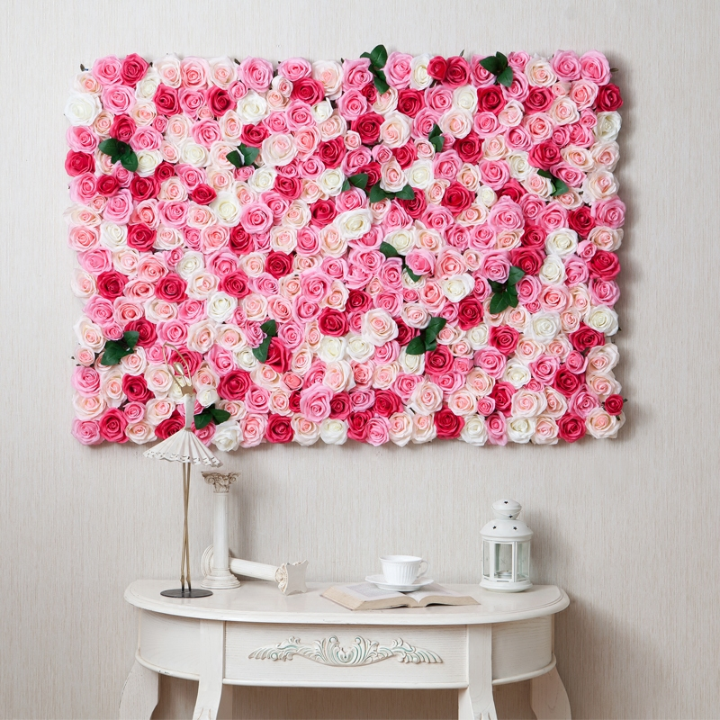 Heart love sharp diy hands made flowers wall decoration for Decoration murale wish