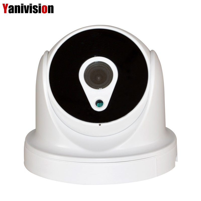 H.265 5MP 2592*1944 4MP IP Caméra de Surveillance Vidéo ABS En Plastique Intérieur Dôme Caméra CCTV H.265 Détection de Mouvement RTSP 48 v POE 2MP