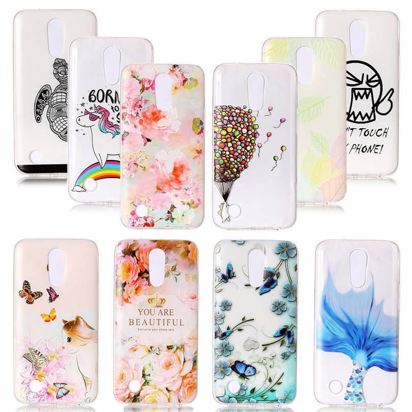 Phone Cases for LG 10 LG K10 2017 M250N Silicon Back Cover Cases for LG K102017 K 10 2017 M 250N LG K20 Plus LV 5 Coque Fundas